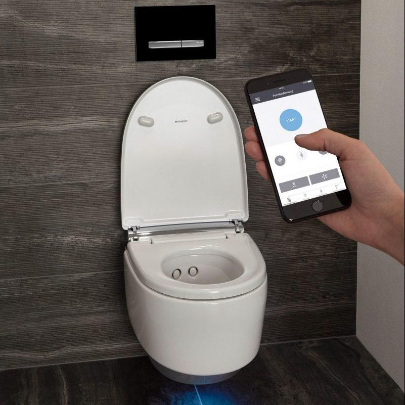 Heizung für WC-Sitz